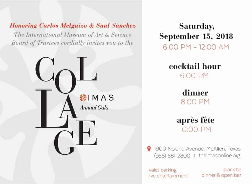 Join Us for the IMAS Annual Gala Black Tie Event