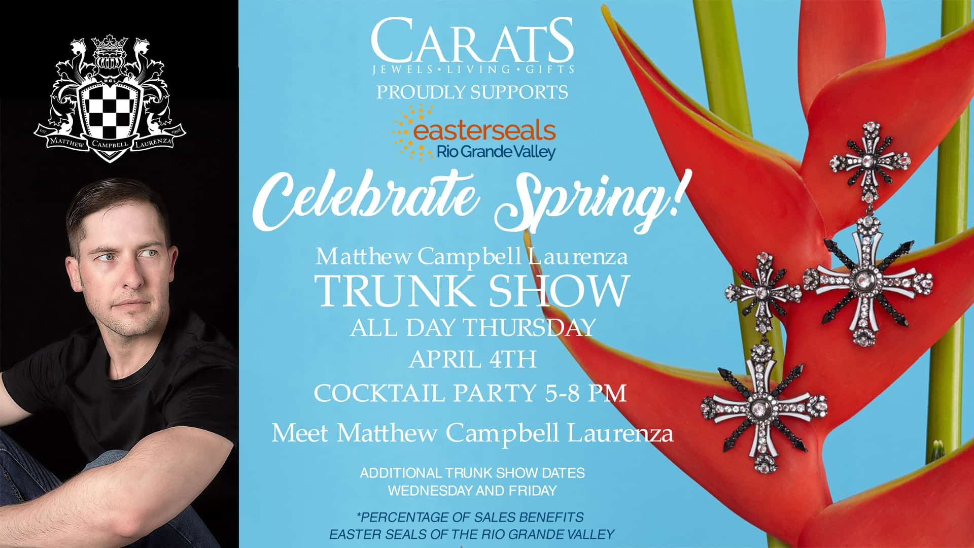 Celebrate Spring with Carats and Easter Seals of the Rio Grande Valley!